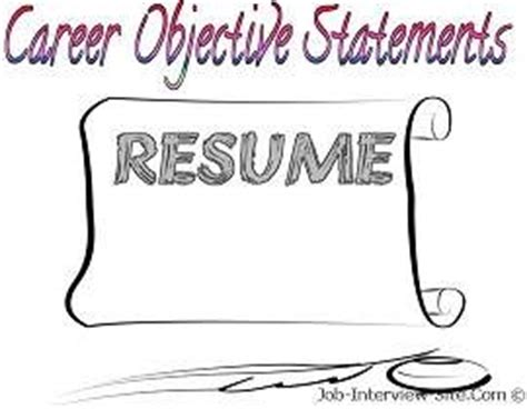 What is a good objective for your resume